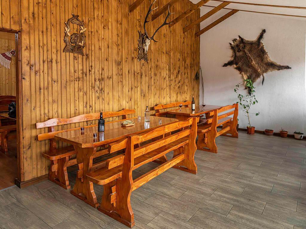 Bihari szállás - étkező